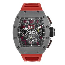 Richard Mille Felipe Massa Sandblast Flyback Chronograph Red...