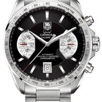 TAG Heuer Chronograf 43mm Automatika použité Grand Carrera Černá e0c714dff64