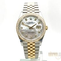 Rolex Chronometer 36mm Automatic 2019 new Datejust (Submodel) Mother of pearl
