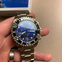 Deep Blue Steel 45mm Automatic MAS7750DARKBLUSUNRAY9 new