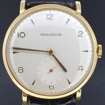Jaeger-LeCoultre Or jaune Remontage manuel Blanc Arabes 34mm occasion