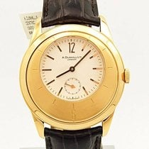 Alfred Dunhill Rose gold 40mm Manual winding pre-owned