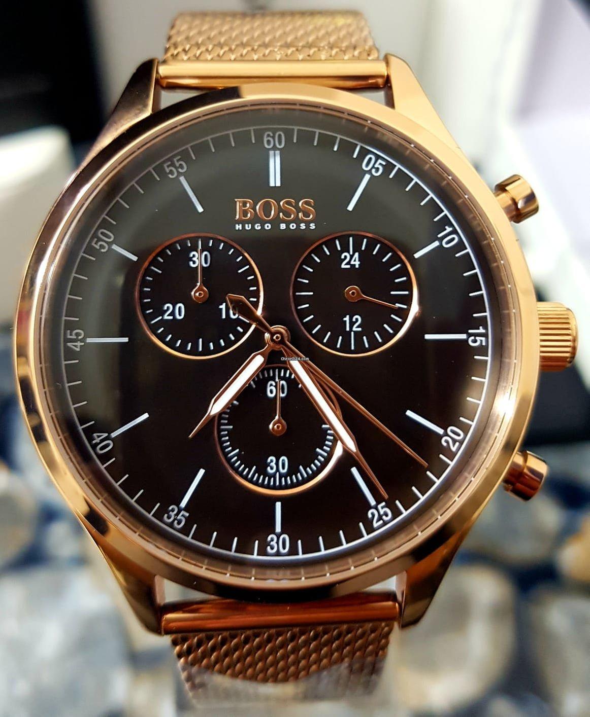 9121e144cedc Hugo Boss HB1513548 Companion Black Face Gold Chronograph Mens... en venta  por 291 € por parte de un Vendedor privado de Chrono24