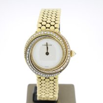 Cartier Trinity Or jaune 27mm Blanc Sans chiffres
