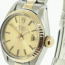 Rolex Lady-Datejust Acero y oro 26mm Champán Sin cifras Argentina, buenos aires