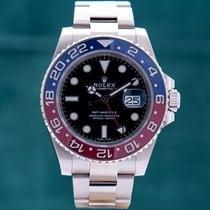 Rolex GMT-Master II White gold 40mm No numerals