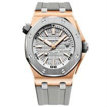 Audemars Piguet Royal Oak Offshore Diver Gold/Steel 42mm Silver United States of America, New York, NY