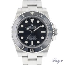 Rolex Submariner (No Date) 114060 2016 подержанные