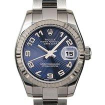 Rolex Lady-Datejust Acier 26mm Bleu Arabes