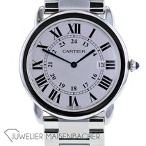 Cartier occasion Quartz 36mm Blanc