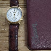 Eberhard & Co. Yellow gold Manual winding White pre-owned