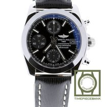 Breitling Chronomat 38 Steel 38mm Black