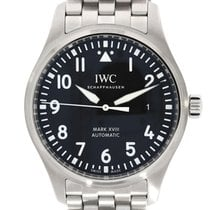 IWC Pilot Mark Acier 40mm Noir Arabes France, Toulouse