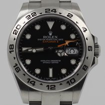 Rolex Explorer II Çelik 42mm Siyah