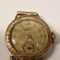 DuBois et fils Yellow gold 21,5mm Manual winding 3 pre-owned