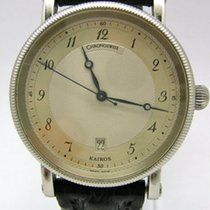 Chronoswiss Kairos Steel 38mm Silver (solid) Arabic numerals