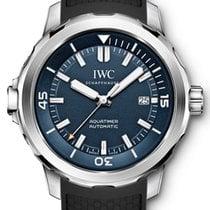 IWC Aquatimer Automatic Acciaio 42mm Blu Italia, l'aquila