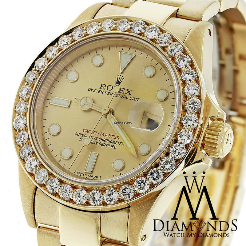 c58137a436f Rolex Yacht-Master Yellow gold - all prices for Rolex Yacht-Master Yellow  gold watches on Chrono24