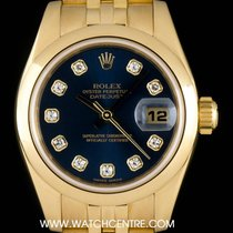 Rolex 179168 Yellow gold 2001 Lady-Datejust 26mm pre-owned United Kingdom, London