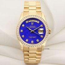 Rolex Factory Rolex Day-Date 118348 Lapis Lazuli Diamond 18K...