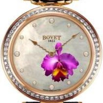 """Bovet Amadeo Fleurier 39mm """"Orchid"""" Ladies Watch in 18K red gold"""