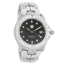 TAG Heuer Link Mens Diamond Black Dial Quartz Watch WT1115.BA0551