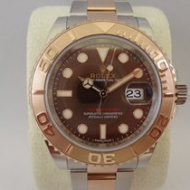 Rolex Yacht-Master steel/pink gold 116621 choco Dial / 40mm