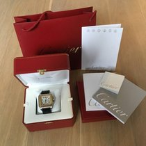 Cartier Santos 100 XL STEEL& GOLD, 2007, CHRONOGRAPH ,B&P
