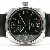 Panerai Radiomir Black Seal Logo Stainless Steel Automatic...