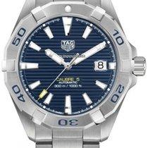 TAG Heuer Aquaracer 300M WBD2112.BA0928 Tag Heuer AQUARACER Acciaio/Blu Calibro5 new