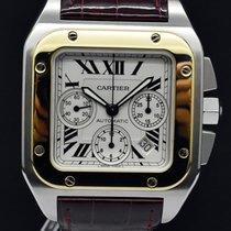 Cartier Santos 100 XL Chrono Full Set