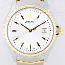 Ebel neu Quarz Zentralsekunde Chronometer Originalzustand/Originalteile 40mm Gold/Stahl Saphirglas