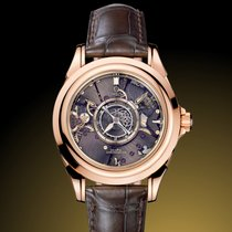 Omega De Ville Central Tourbillon Red gold 38,7mm No numerals