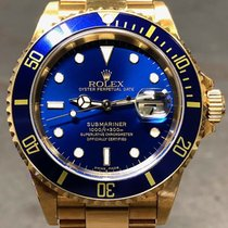 Rolex Submariner Date Yellow gold 40mm Blue United States of America, Texas, Dallas