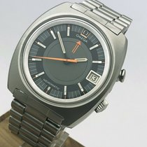 Omega Memomatic Steel 40mm Grey No numerals United States of America, Massachusetts, Boston