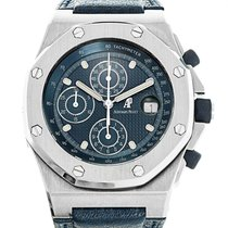 Audemars Piguet Chronograph 42mm Automatik gebraucht Royal Oak Offshore Chronograph Blau