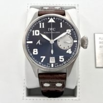 IWC 46mm Automatic 2009 pre-owned Big Pilot Brown