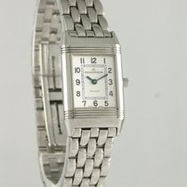 Jaeger-LeCoultre Reverso Lady Steel 19mm Silver Arabic numerals