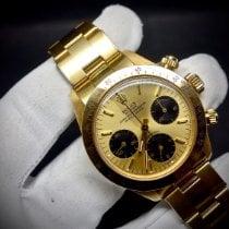 Rolex 6265/8 Zuto zlato 1980 Daytona 37mm rabljen