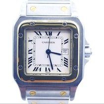Cartier Santos Galbée Gold/Steel 29mm White Roman numerals United States of America, New Jersey, Long Branch