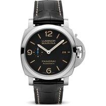 沛納海 Luminor Marina 1950 3 Days Automatic 新的 2020 自動發條 附正版包裝盒和原版文件的手錶 PAM01312