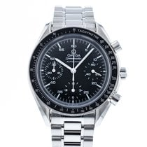 Omega Speedmaster Reduced Çelik 39mm Siyah