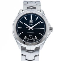 TAG Heuer Link Calibre 5 Steel 42mm Black