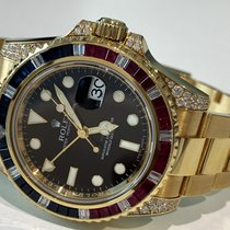 Rolex 116758SARU Yellow gold 2007 GMT-Master II 40mm pre-owned