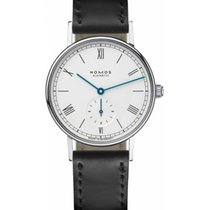 NOMOS Ludwig Staal 35mm Wit Romeins