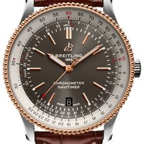 Breitling Navitimer Gold/Steel 41mm Grey