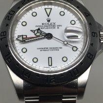 Rolex Explorer II Acier 40mm Blanc Sans chiffres France, annecy