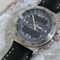 Breitling B-1 Stahl 43mm Grau Arabisch