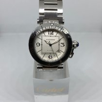 Cartier Pasha Seatimer Steel 40mm White Arabic numerals United States of America, California, SAN DIEGO