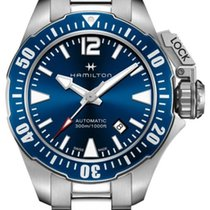 Hamilton Khaki Navy Frogman new 2020 Automatic Watch with original box and original papers H77705145